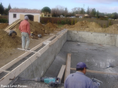Methode de construction - coulage